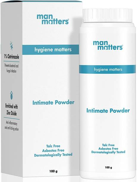 Man Matters Anti-Fungal Intimate Powder | Fights Bacterial Infections | Masks Sweat And Odor