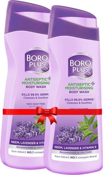 BOROPLUS Antiseptic + Moisturising Body Wash (Neem, Lavander & Vitamin E)