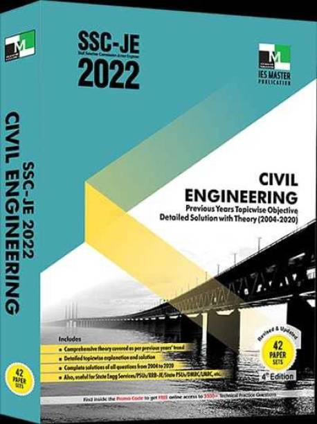 Ssc-Je 2022 Civil Engineering Previous Years Topic Wise Objective Detailed Solution With Theory(2004-2020)