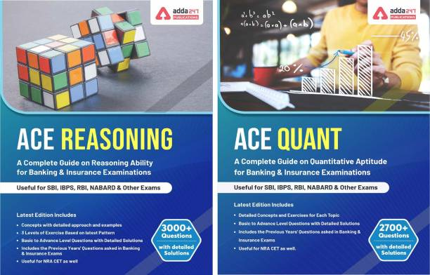 Book Combo for Bank Exams (Ace Quant & Ace Reasoning) English Edition