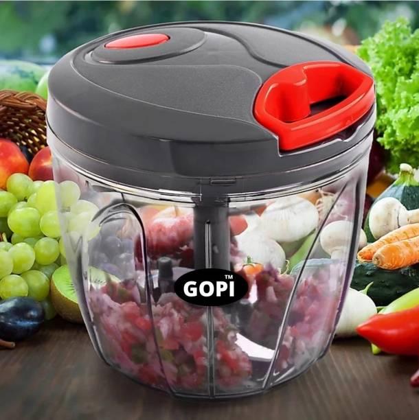 gopi 1000 ml chopper Vegetable & Fruit Chopper