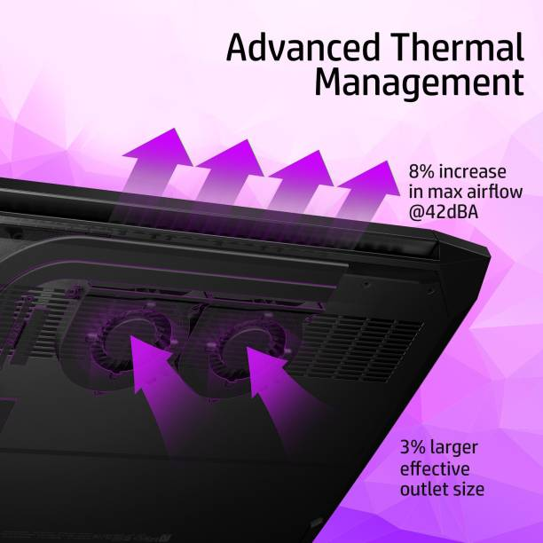 HP Pavilion Ryzen 5 Hexa Core 4600H - (8 GB/1 TB HDD/256 GB SSD/Windows 10 Home/4 GB Graphics/NVIDIA GeForce GTX GTX 1650) 15-ec1048 AX Gaming Laptop