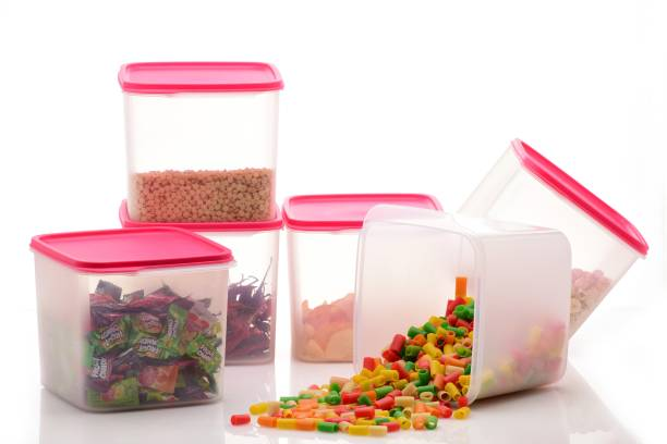 SPEACK Woman's 1st Choice Airtight Kitchen Containers / Kitchen Storage Containers / Storage Box / Plastic Box / Plastic Containers / Canisters / Combo / Set For Tea, Coffee, Sugar, Food, Grain, Rice, Masala, Pasta, Pulses, Spices, Kitchen  - 4000 ml Plastic Grocery Container