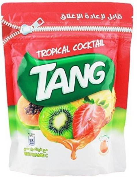 TANG Tropical Cocktail Drink Powder (Imported) Resealable Nutrition Drink