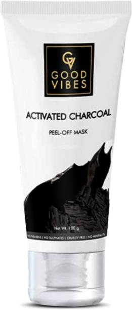 GOOD VIBES Activated Charcoal Peel Off Mask
