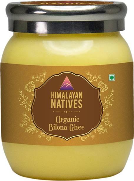 Himalayan Natives Organic Bilona Ghee- 1000ml Ghee 1 L Plastic Bottle