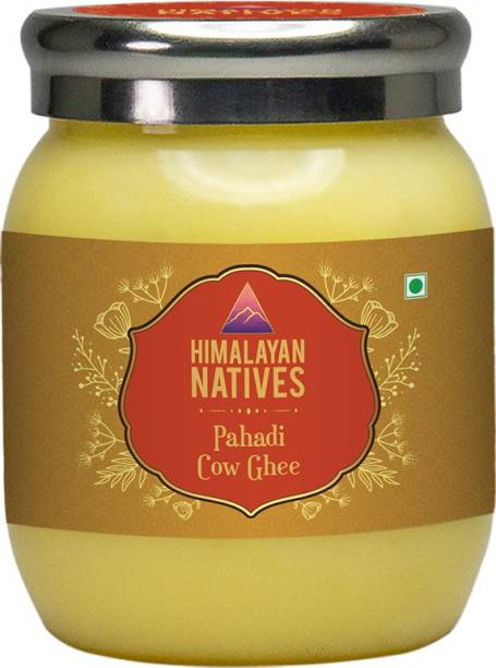 Himalayan Natives Pahadi Cow Ghee 1000ml Ghee 1 L Plastic Bottle