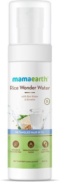 MamaEarth Rice Wonder Water Hair Serum for Women, For Detangled Hair in 7 Seconds, With Rice Water & Keratin