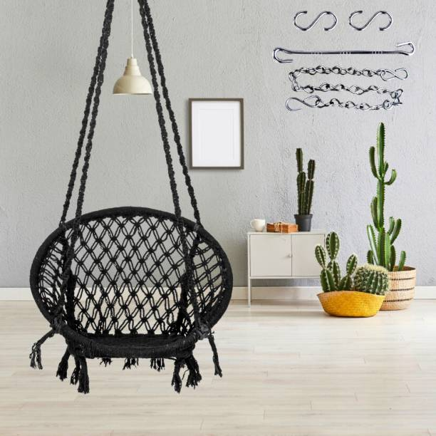 Swingzy Round swing with Accessories & Chain Cotton Large Swing