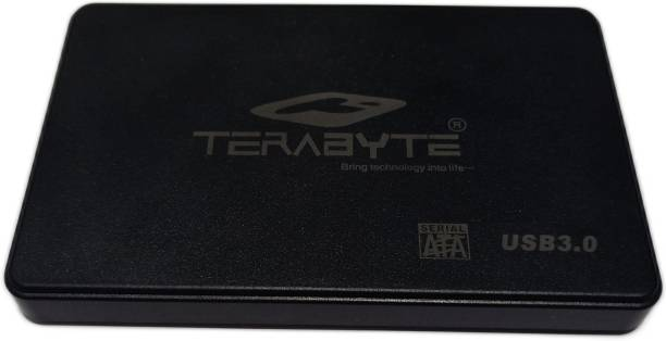 """TERABYTE USB 3.0 Laptop Casing 2.5"""" HDD/SSD 2 in 1 USB 3.0 External Hard Drive Enclosure Case for Laptop Hard Disks to Enclosure Case Cover SATA (Color May Vary) 2.5 inch LAPTOP CASING"""
