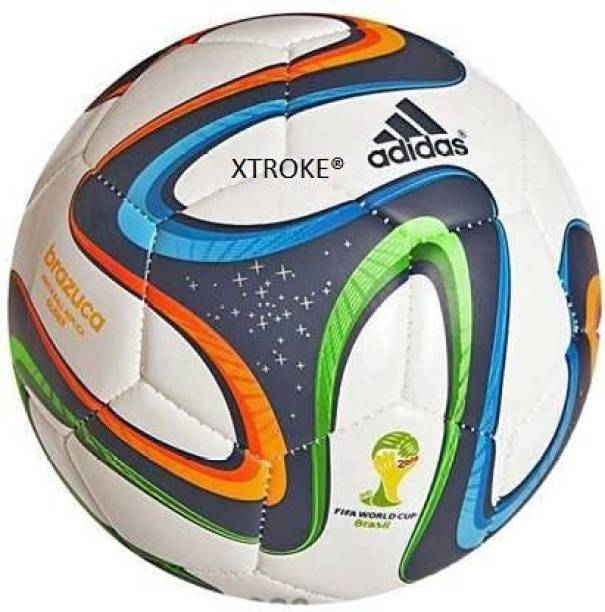 XTROKE Football Black & White size 5 Football & Fitness Kit