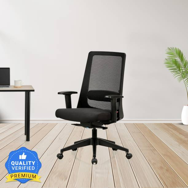 Featherlite Amaze MB Mesh Fabric Office Adjustable Arm Chair