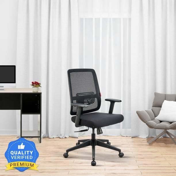Featherlite Versa MB Mesh Fabric Office Adjustable Arm Chair