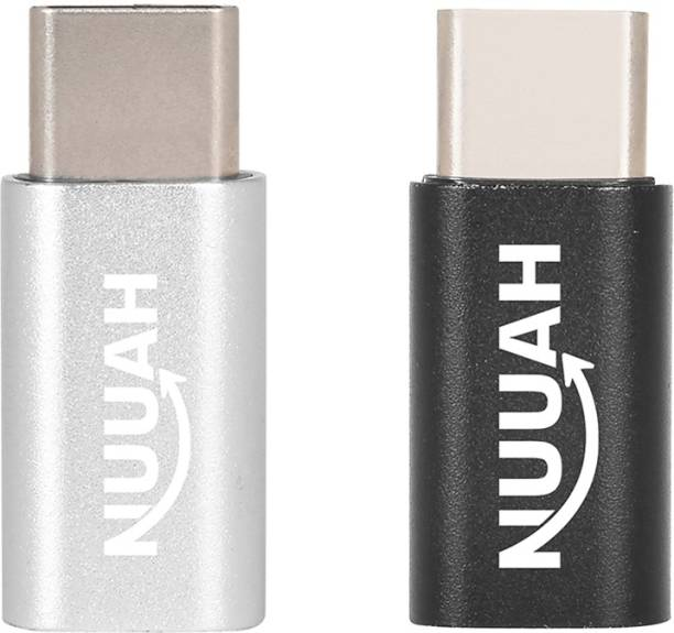 Nuuah Micro USB, USB Type C OTG Adapter