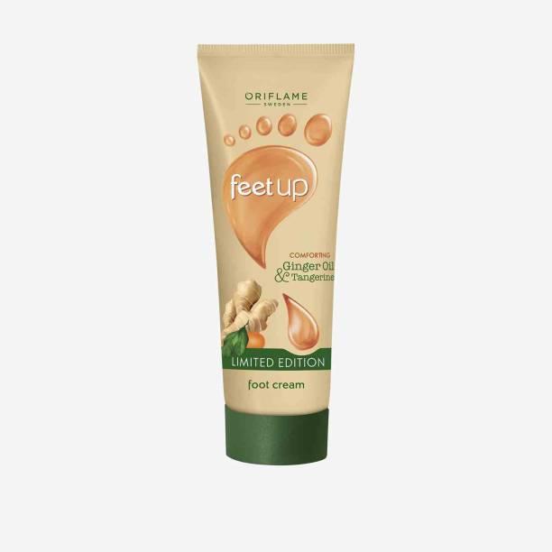 Oriflame Sweden FEET UP Comforting Ginger Oil & Tangerine Foot Cream