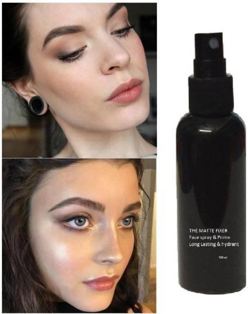MIKARA Natural Long Lasting Makeup Setting Spray Moisturizing Foundation Fixer Make Up SprayMatte Finishing Setting Spray Cosmetic Primer  - 100 ml