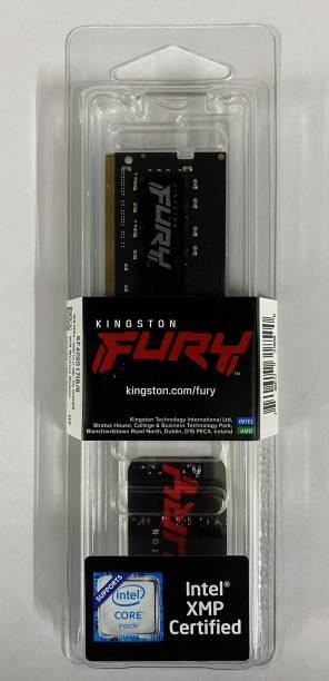 KINGSTON PC4 -2933 CL17 260PIN SO DIMM LAPTOP MEMORY DDR4 8 GB (Single Channel) Laptop (KF429S17IB/8)