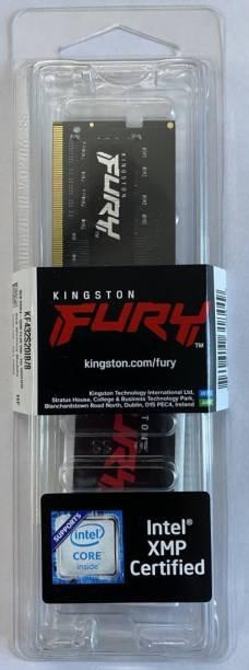 KINGSTON KINGSTON FURY 8GB -3200,1RX8 , CL 20 ,260PIN SODIMM DDR4 8 GB (Single Channel) Laptop (KF432S20IB/8)
