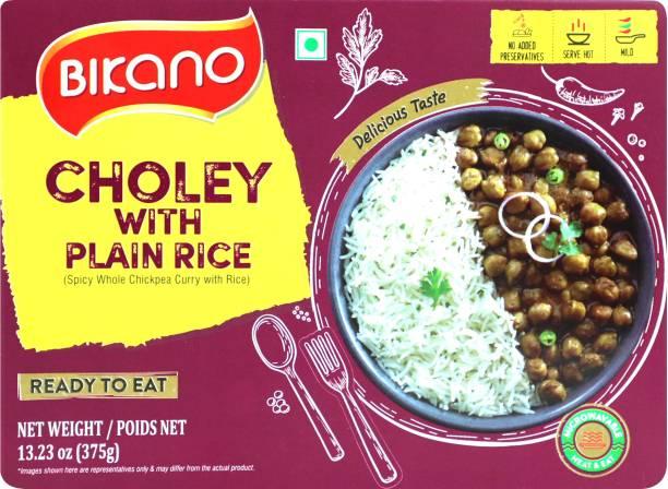 Bikano Choley with Plain Rice 375 g
