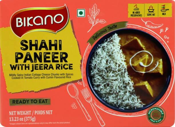 Bikano Shahi Paneer with Jeera Rice 375 g
