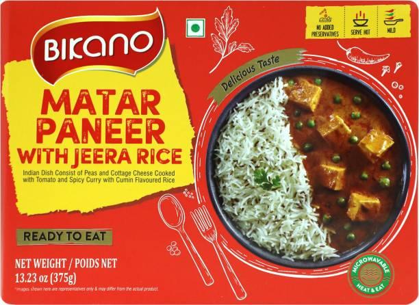 Bikano Matar Paneer with Jeera Rice 375 g