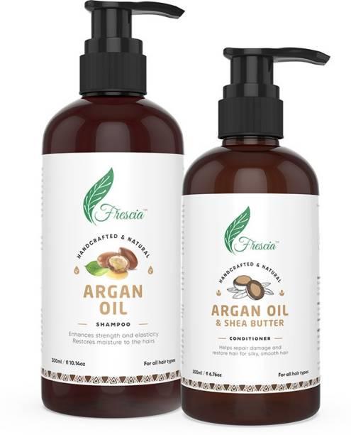 Frescia Argan Oil Hair Care Combo