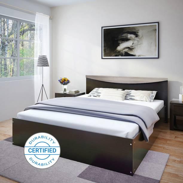 Flipkart Perfect Homes Carol Engineered Wood Queen Bed