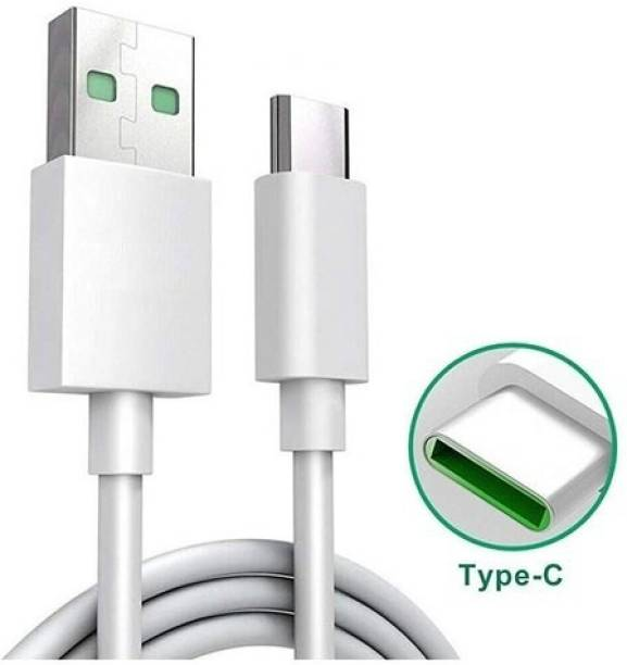 getcell VOO C replacement CHARGING CABLE 5A 1 m ORIGINAL like USB Type C Cable Data Cable White 1 m USB Type C Cable