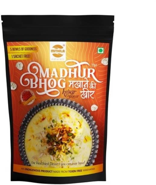 Mithila Naturals Madhur Bhog Instant Makhana Kheer - Kesar Flavour 800 g