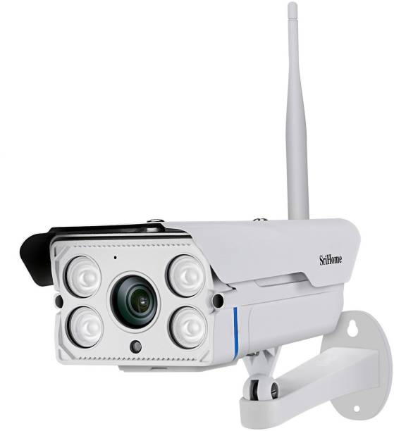 Srihome SH027 3MP WiFi ip camera 1296P Two-Way Audio Night Vision AP Hotspot Connection 5xZoom Weatherproof Outdoor CCTV Camera IP Camera Security Camera