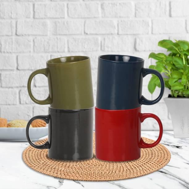 Flipkart SmartBuy Ceramic Beautiful Plain Glossy Tea & Coffee 300 ml Cup