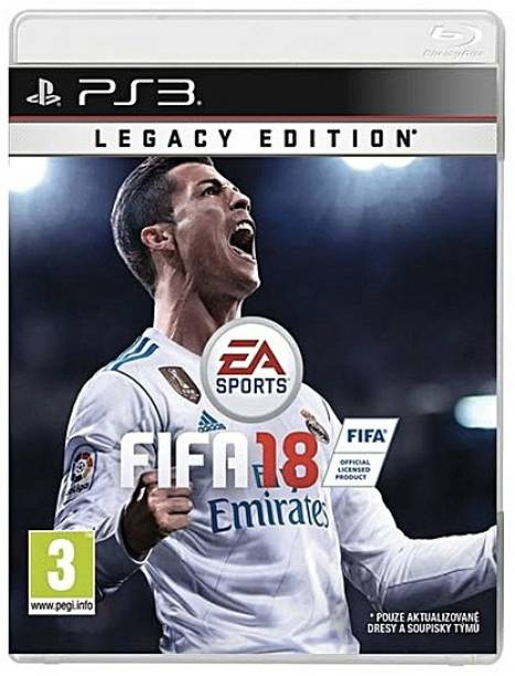 FIFA 18 PS3 (2017)