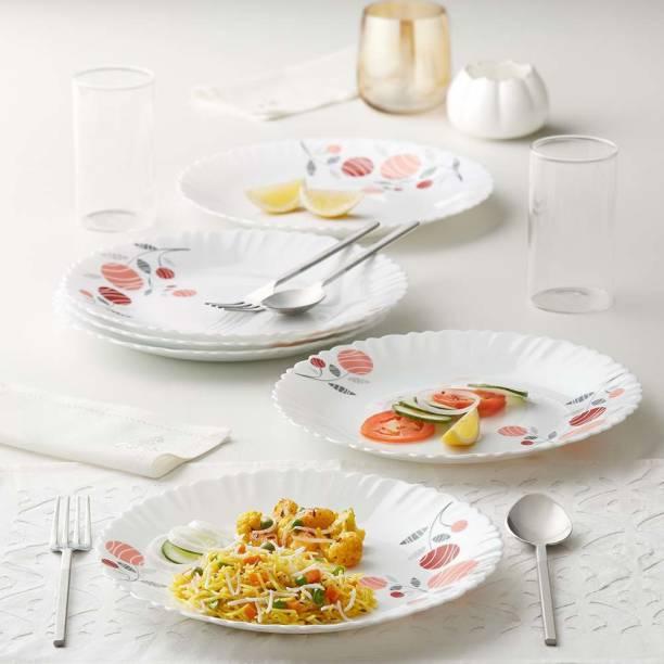 Larah by Borosil Dahlia Dinner Plate
