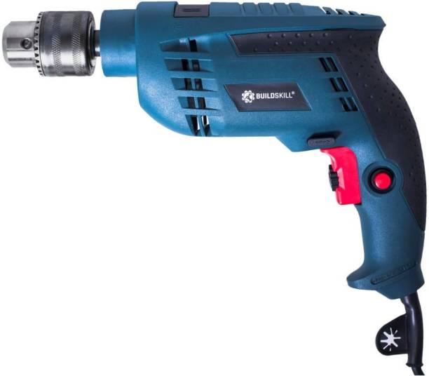 BUILDSKILL Pro 850W Reversible Hammer Professional DIY Home BGSB13RE-Blue Pistol Grip Drill