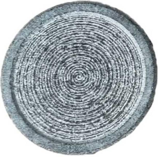 Life Hacks Sandalwood Turmeric Grinding/Rubbing Stone/Circle Decorative Showpiece