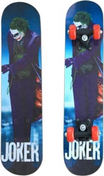 ZARTHA JOKER SKATEBOARD 6 inch x 24 inch Skateboard