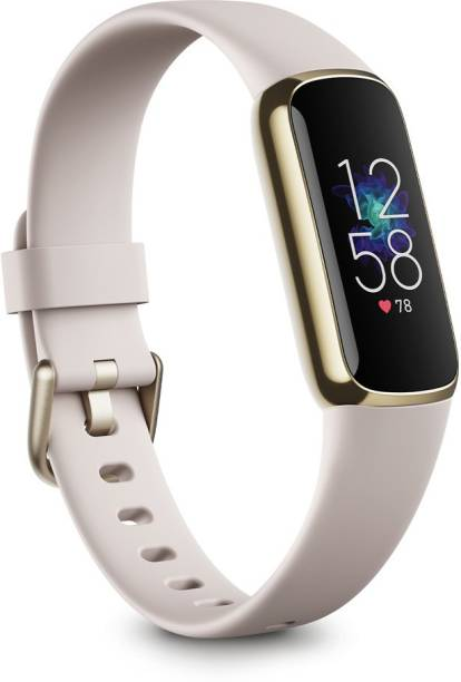 FITBIT Lunar White Soft Gold Stainless Steel