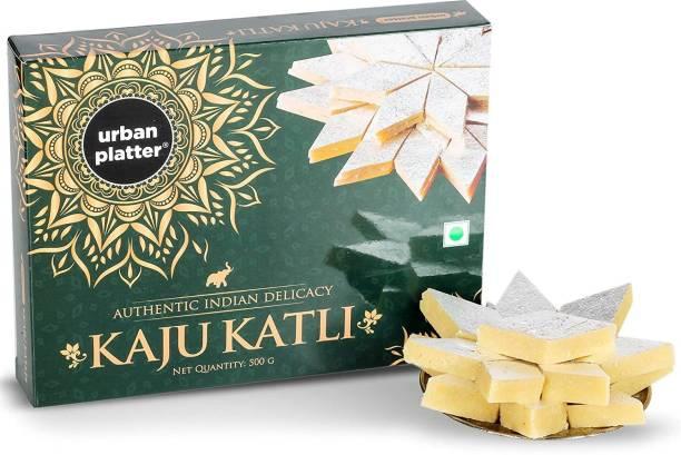 urban platter Premium Kaju Katli, (Sweets, Indian Mithai) Box