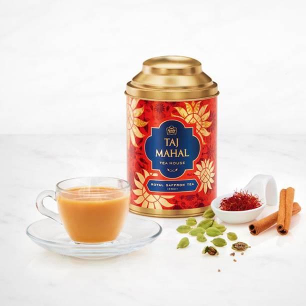 Taj Mahal Royal Saffron (Chai) Masala Tea Tin