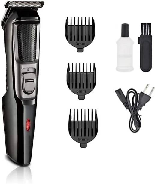 BAZER AT-3076 beared shaving trimming machine  Runtime: 45 min Trimmer for Men