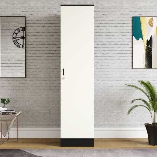 Home Full Engineered Wood 1 Door Wardrobe