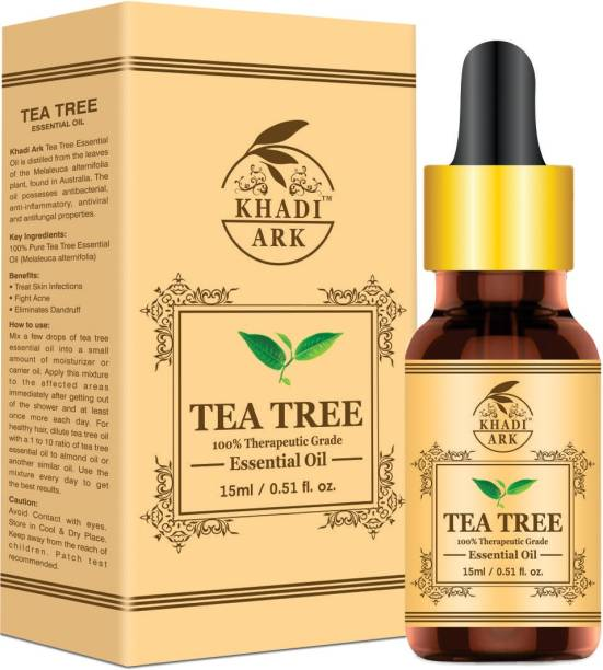 Khadi Ark Tea Tree Oil Essential For Skin & Hair Care