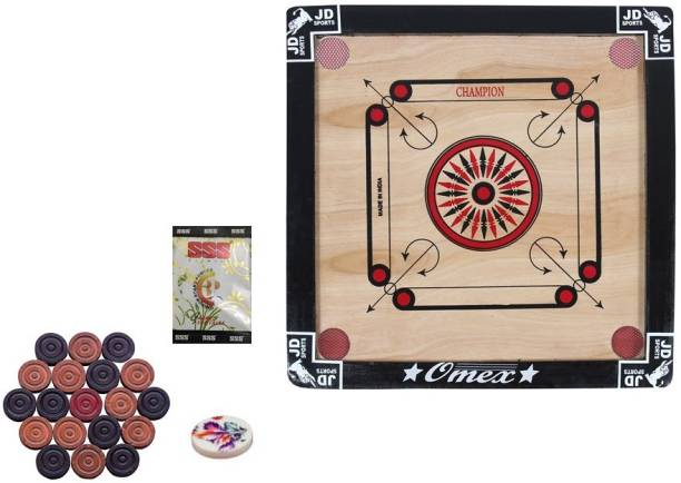 JD Sports small 20inch 3year to 5 year children 50 cm Carrom Board