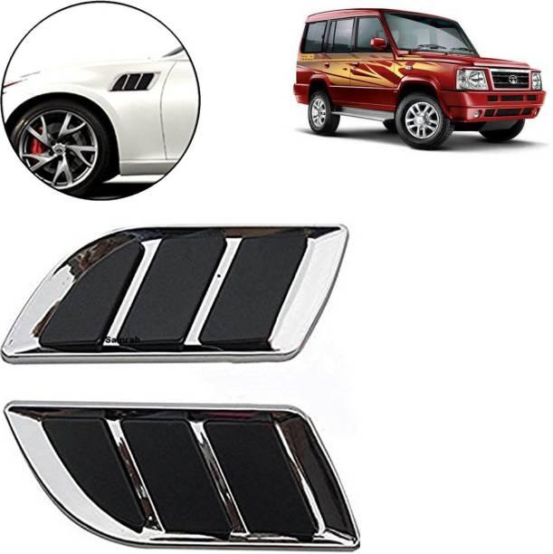 aksmit 3D Car Air Flow Vent Fender Side Door Decals Stickers FLS5226 ForSumo Gold_bs174 Side Scoop