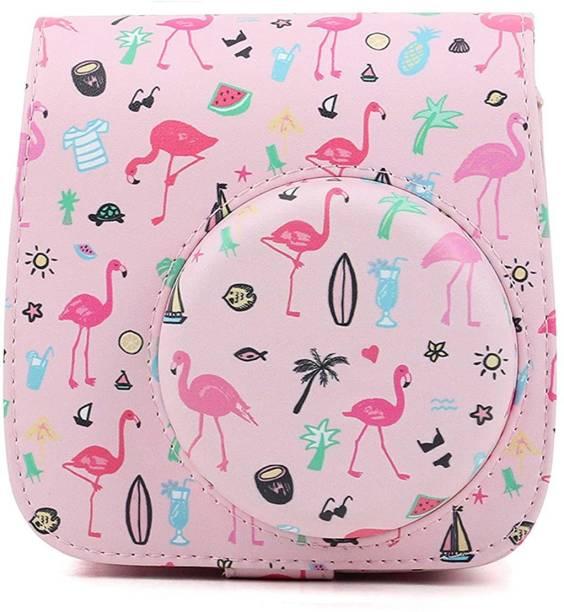 Stela MINI 11 INSTAX CAMERA POUCH Camera Bag (Watermelon flamingos)  Camera Bag
