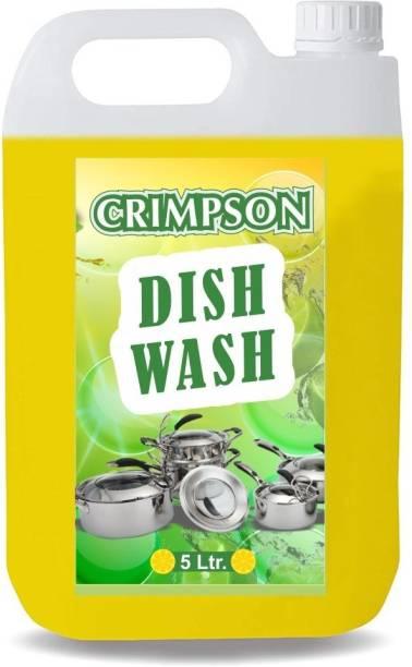 crimpson liquid dish wash gel lemon fragnance Dish Cleaning Gel (lemon, 5 L) Dishwash Bar