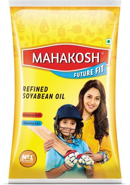 Mahakosh Refined Soyabean Oil Pouch