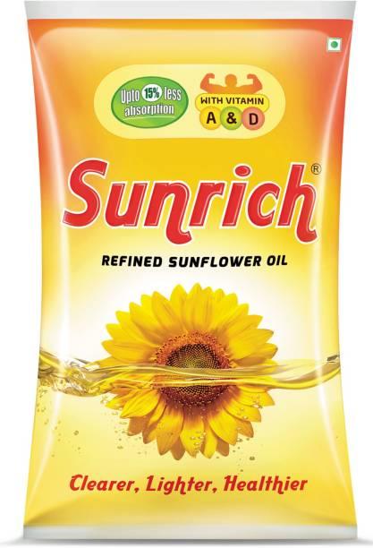 Sunrich Refined Sunflower Oil Pouch