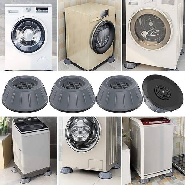 NIPRAM NATIONAL 4 Pieces Washing machine Stand Anti Vibration pads , Table Legs