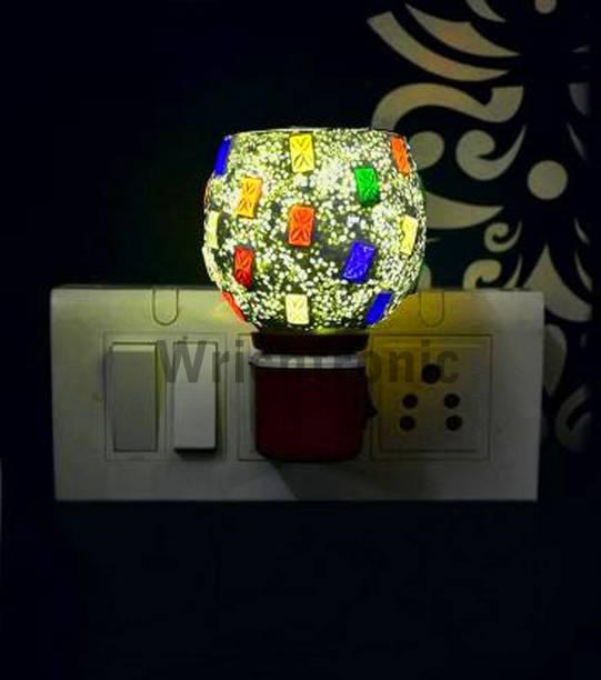 ASHTAMANGAL Electric Incense burner or kapoor dani With night lamp DN 15 Ceramic, Plastic Incense Holder